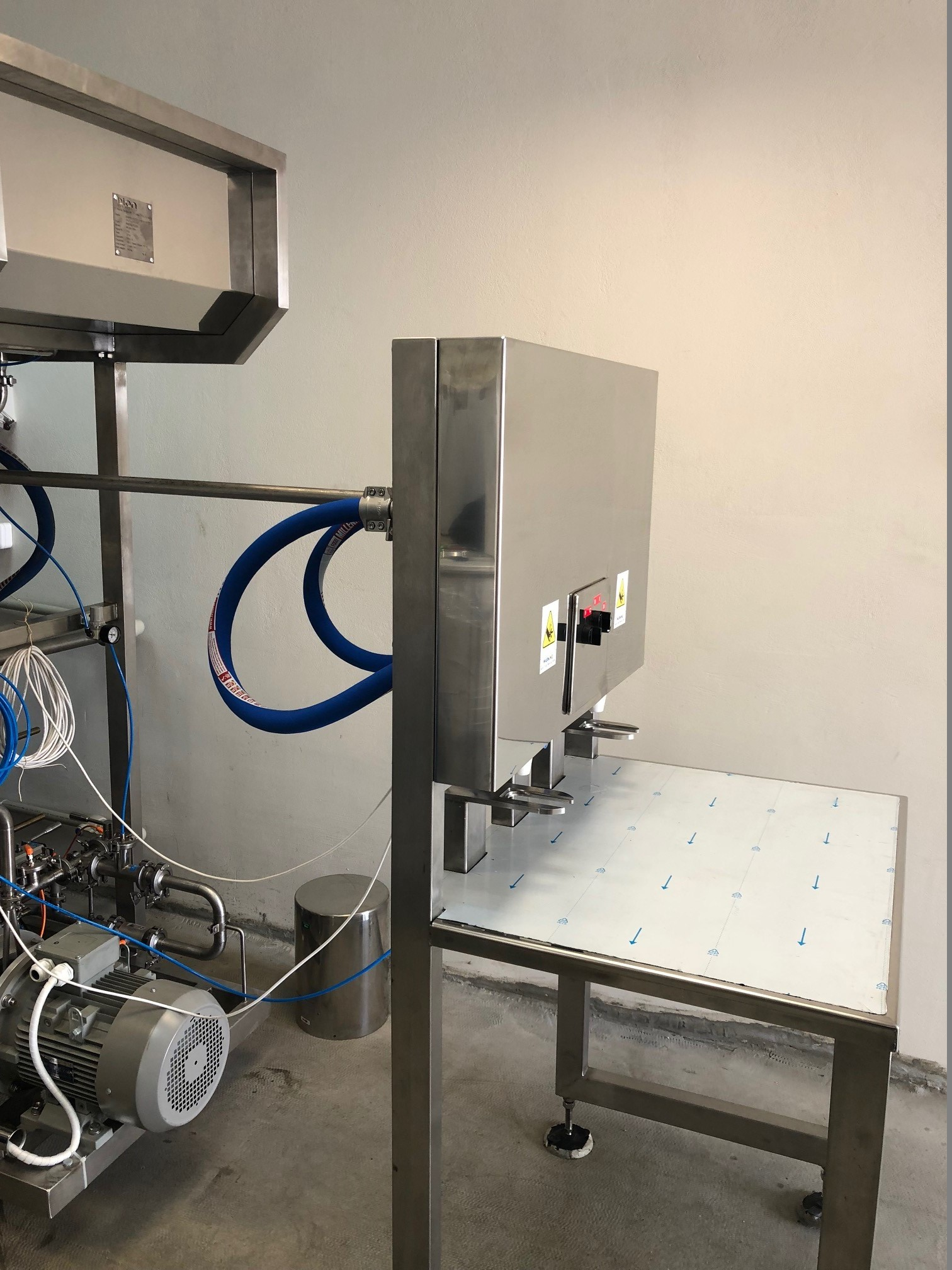 filling machine module