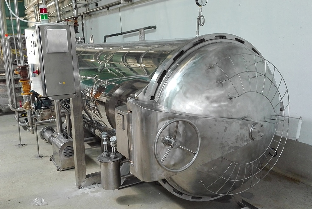 horizontal autoclaves
